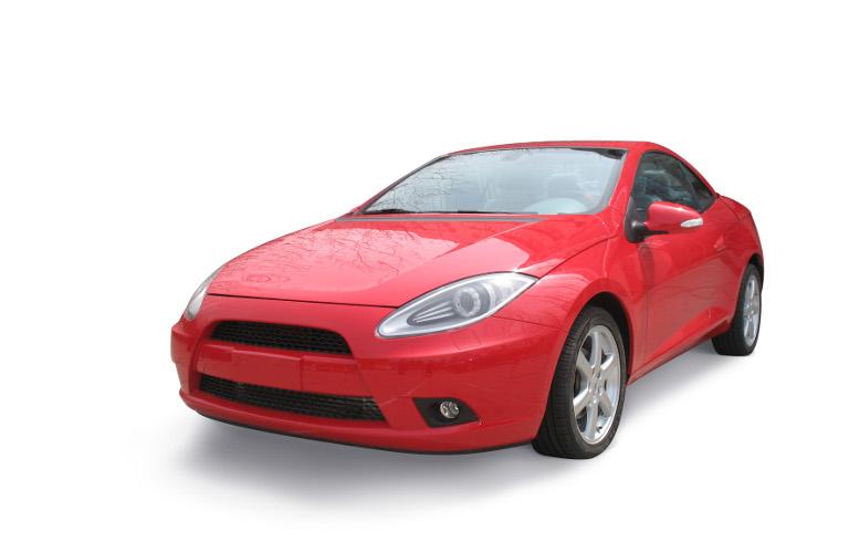 SABICイノベーティブプラスチックスのNoryl GTX*、Xenoy*およびStamaxR樹脂を採用したChery Automobile社の新型A3CCスポーツクーペ