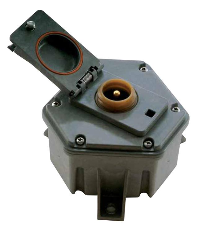 SABICイノベーティブプラスチックスのExtem*樹脂が使用可能な電気コネクタボックス部品