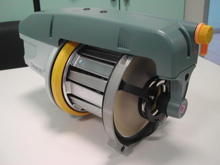 APTIVRフィルムを用いてROJ社が開発したコーンが使われている織機用制動システム